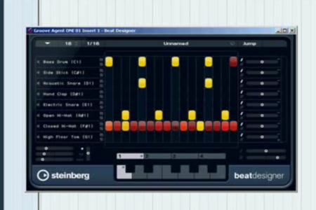 Cubase 5: Groove Agent & Beat Designer