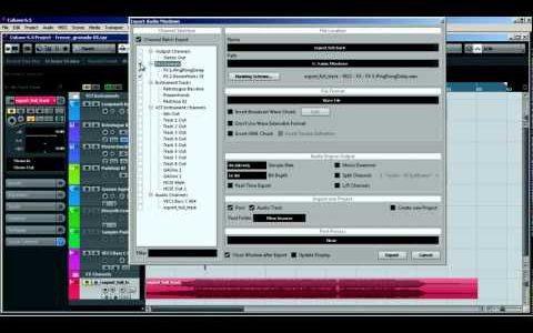 Exportando p/ a Mix!