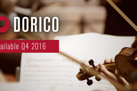 Preview: Dorico - novo software de notação da Steinberg