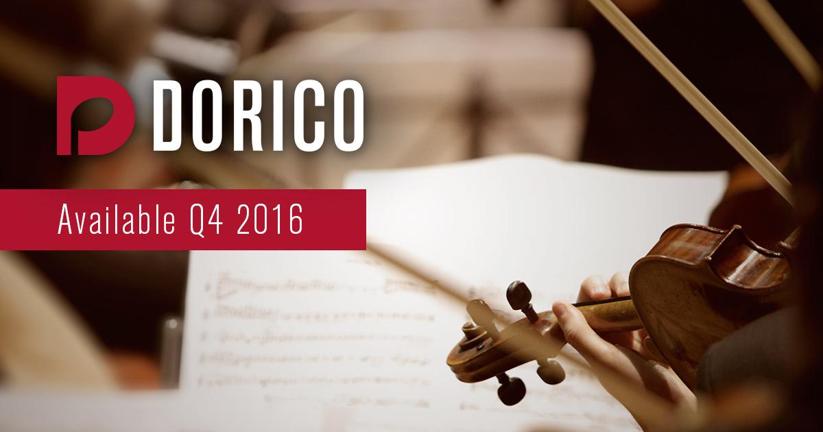 Steinberg Dorico | Novo software de notação musical