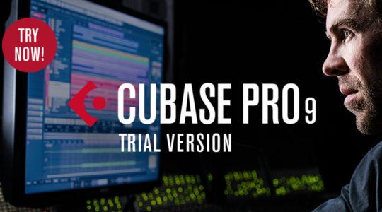 Steinberg: Versões de TRIAL do Cubase 9 liberadas!
