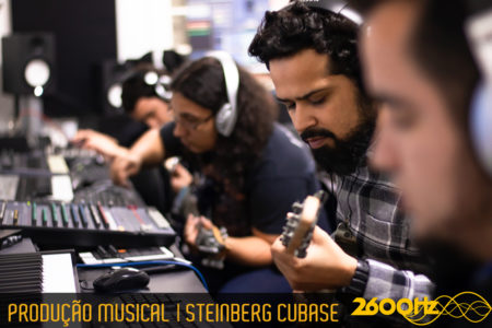 Curso de Produção Musical: Cubase PRO - Galeria de Fotos - 1º Semestre 2018